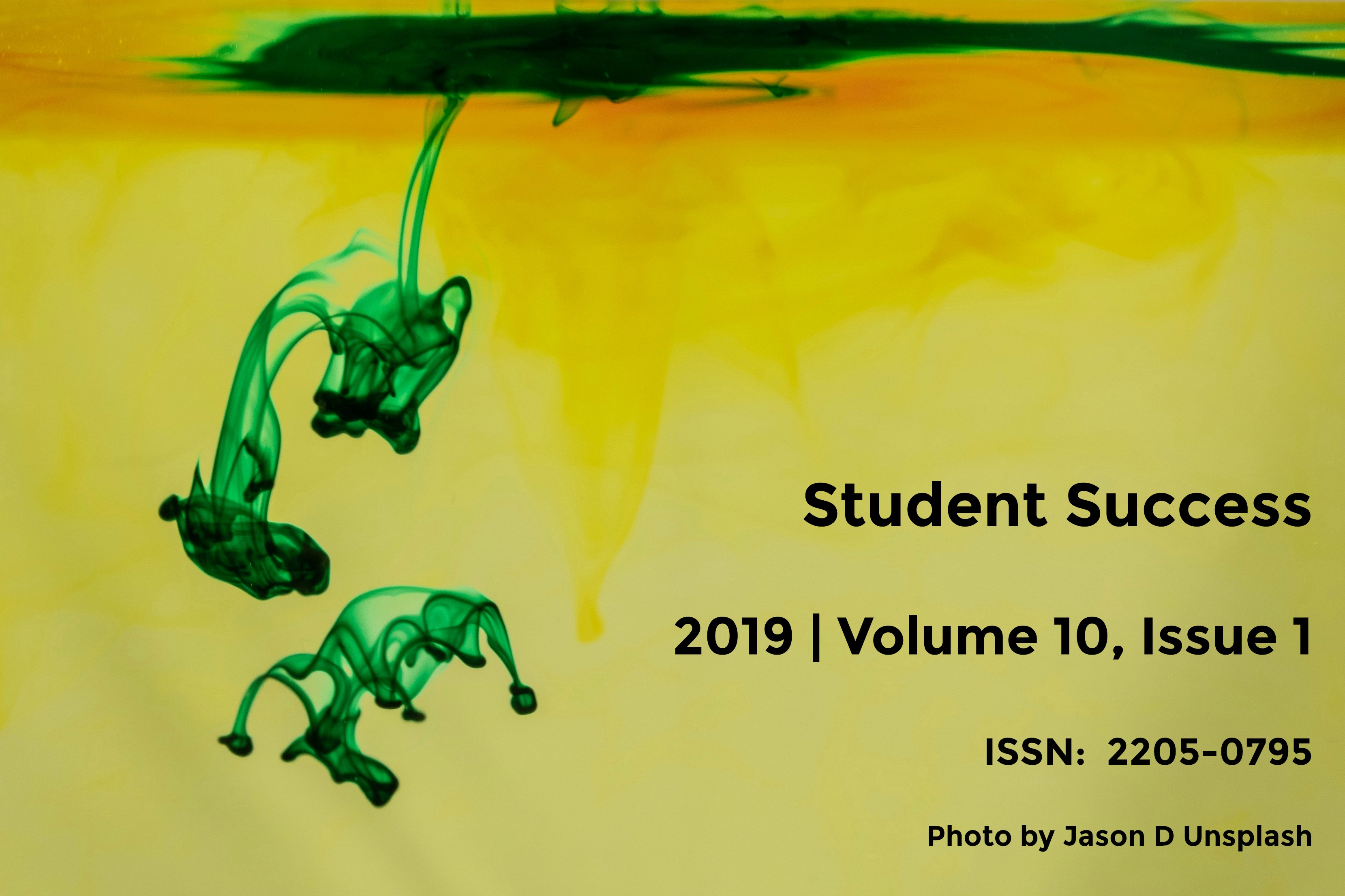 Student Success Volume 10